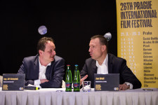 Press conference – Prague IFF – Febiofest 7. 3. - hotel Carlo IV.
