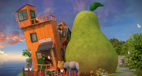 Picture The Incredible Story of the Giant Pear