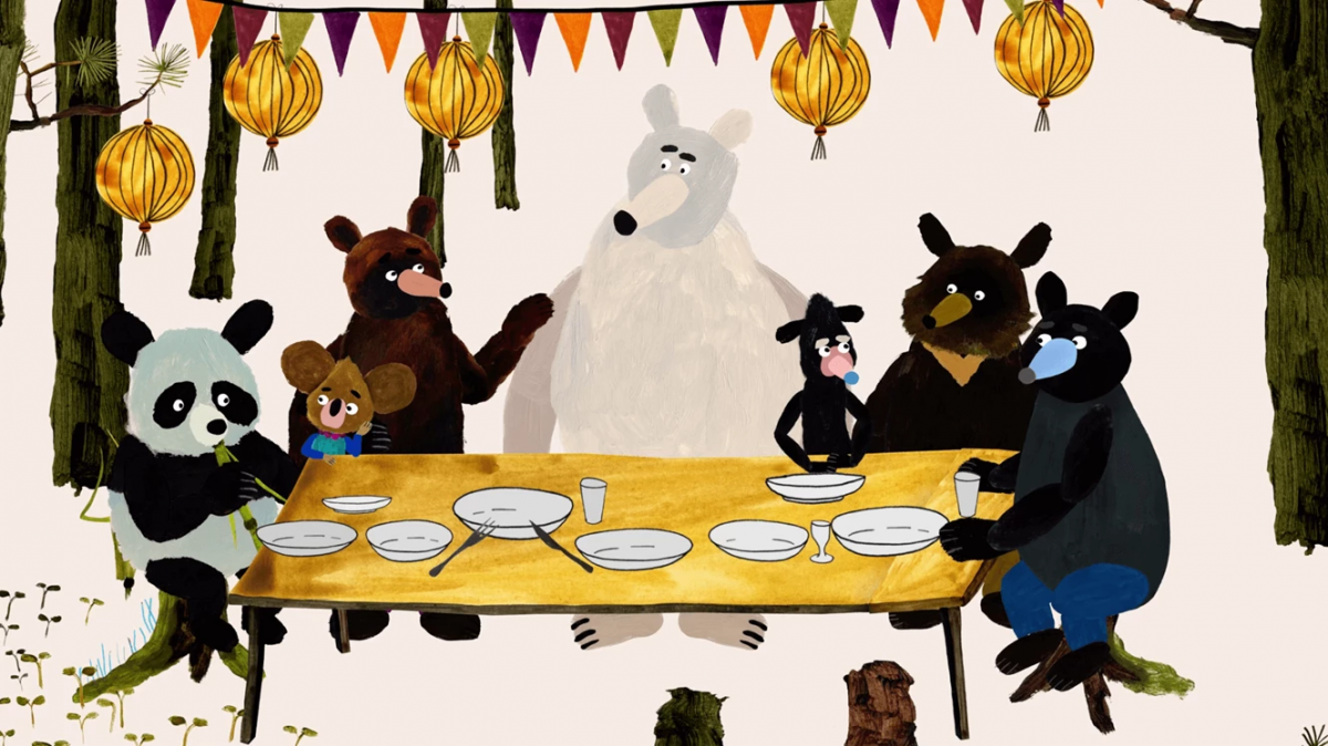 trailer Hungry Bear Tales
